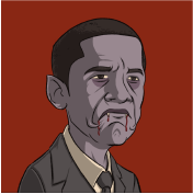 Obama Undead Presidents NFT Vampire Subscribe Image